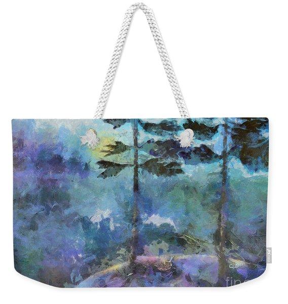 Twin Pines Weekender Tote Bag