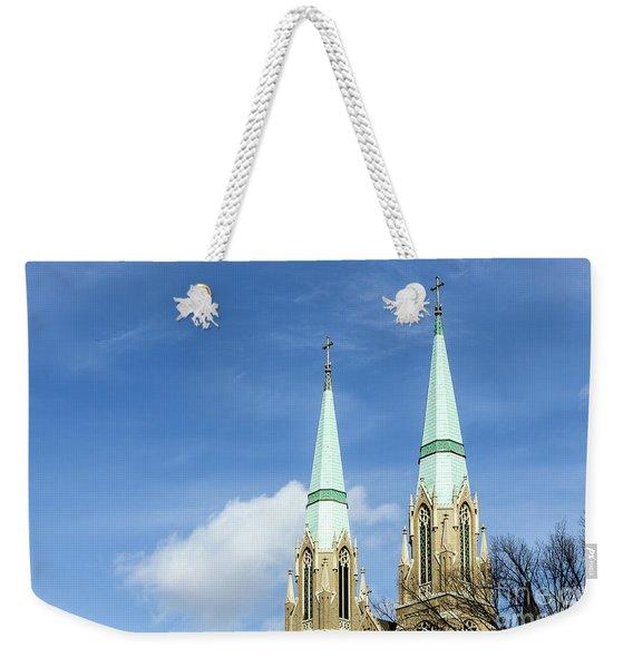 Twin Spires Weekender Tote Bag