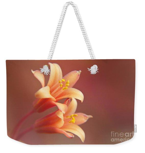 Twin Yucca Flowers Weekender Tote Bag