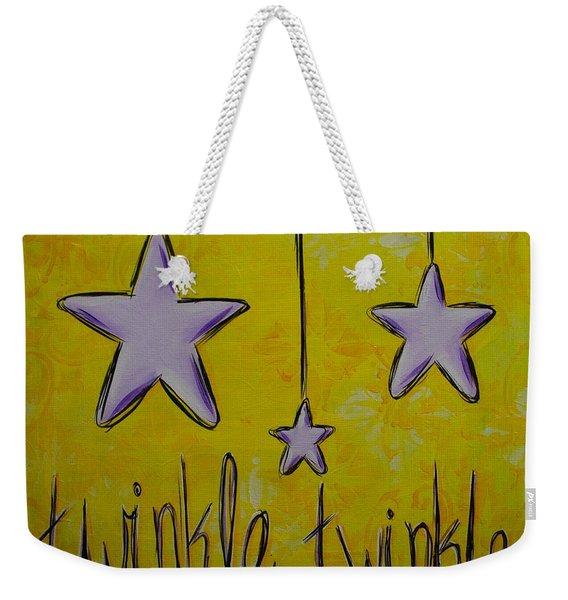 Twinkle Twinkle Weekender Tote Bag