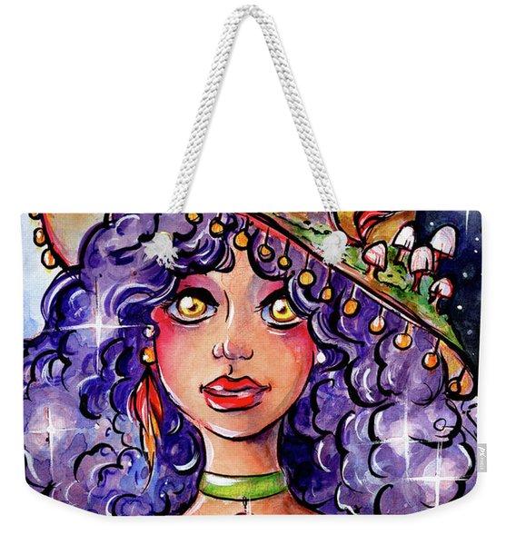 Twinkle Witch Weekender Tote Bag