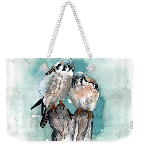 Twins Weekender Tote Bag