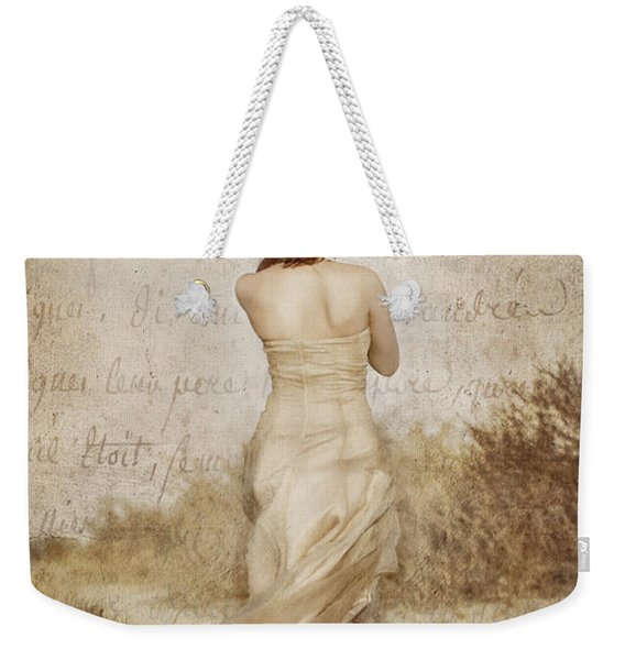 Twirling Painted Lady Weekender Tote Bag