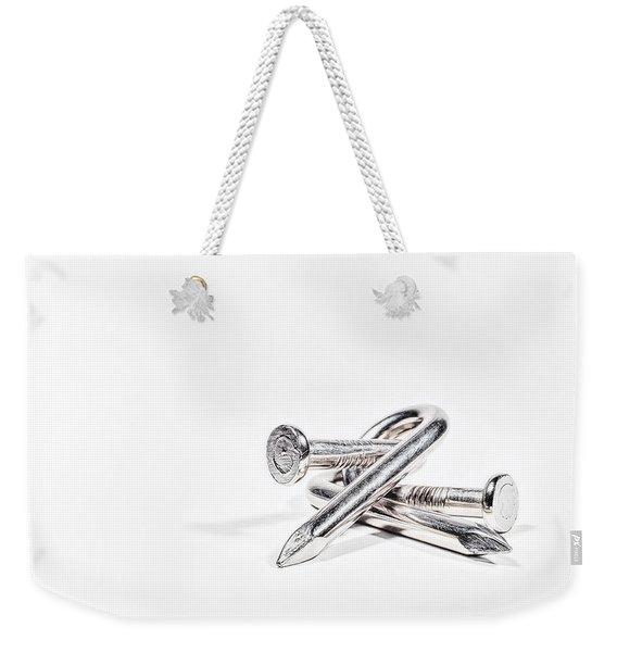 Twisted Nails Weekender Tote Bag