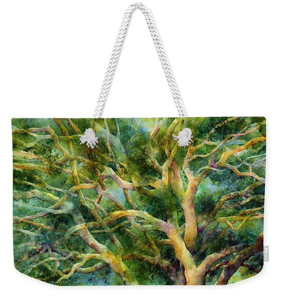 Twisted Oak Weekender Tote Bag