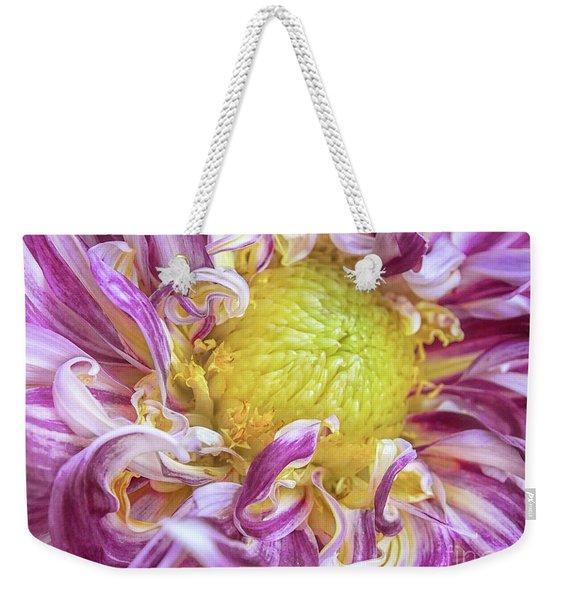 Twisted Petals Weekender Tote Bag