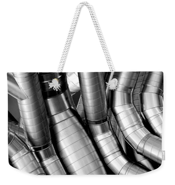 Twisty Tubes Weekender Tote Bag