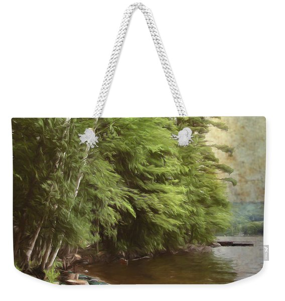 Two Birches Weekender Tote Bag
