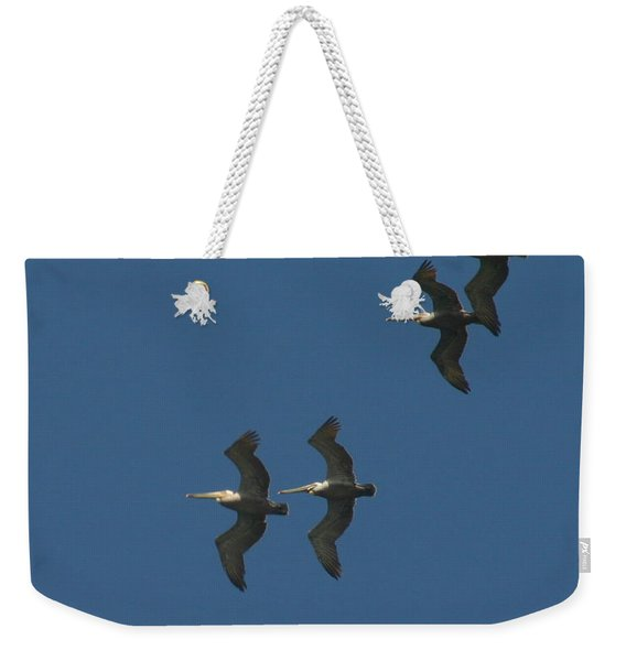 Two By Two Weekender Tote Bag