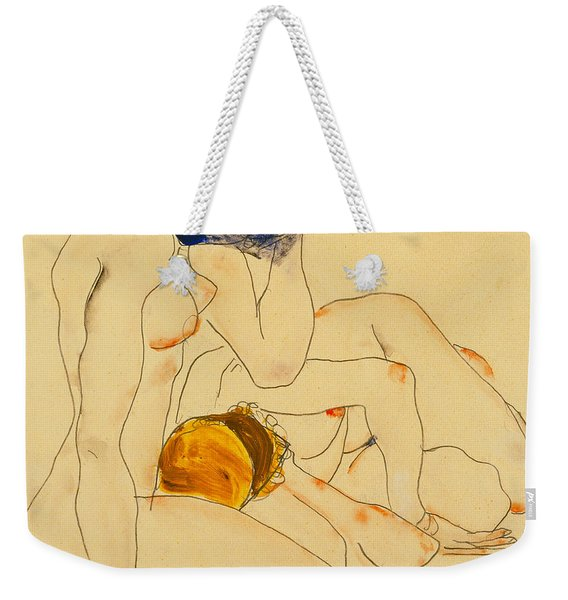Two Friends Weekender Tote Bag