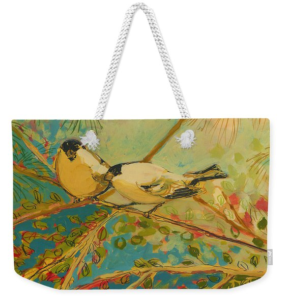 Two Goldfinch Found Weekender Tote Bag