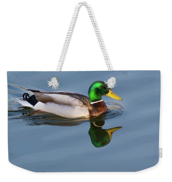 Two Headed Duck Weekender Tote Bag