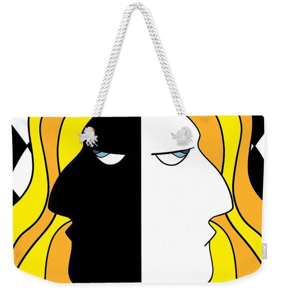 Two Heads Two Souls Weekender Tote Bag