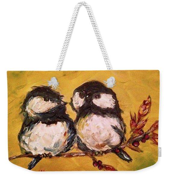 Two Hot Chicks Weekender Tote Bag