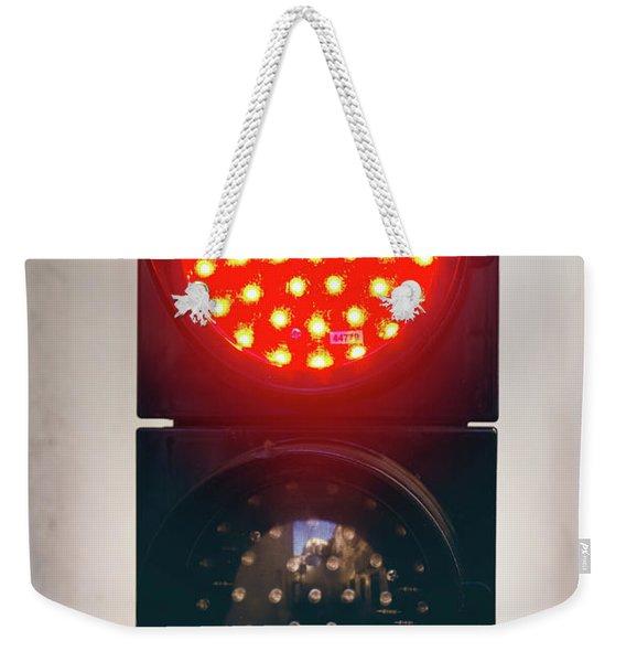 Two Light Semaphore Weekender Tote Bag