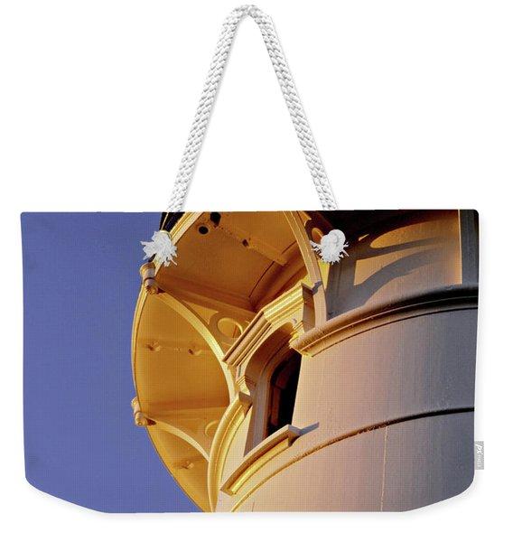 Two Lights, Cape Elizabeth Weekender Tote Bag