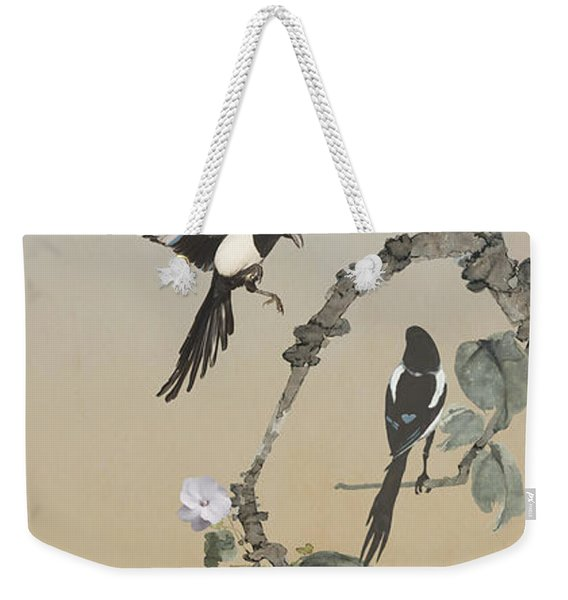 Two Magpies                       Weekender Tote Bag