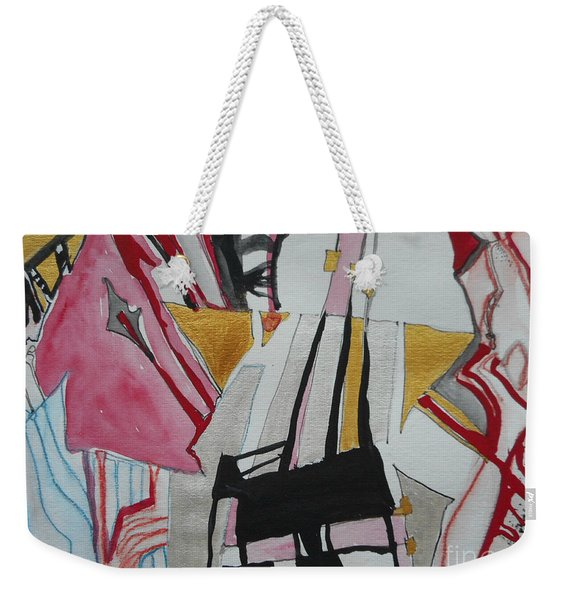 Two Musicians Weekender Tote Bag