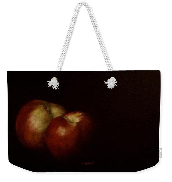 Two Nectarines Weekender Tote Bag