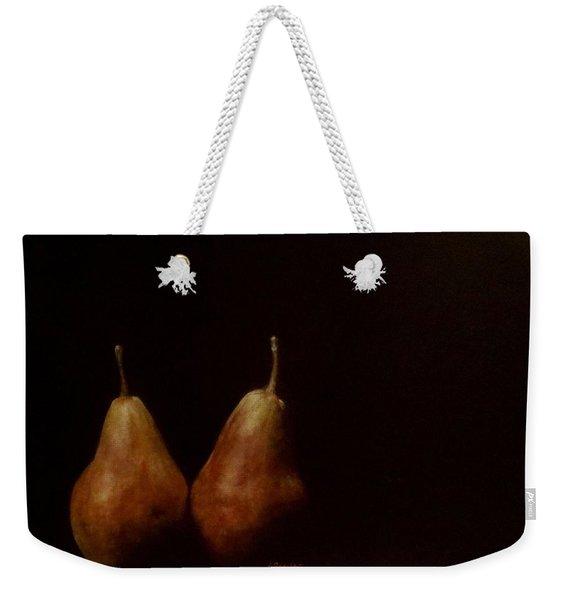 Two Pears Weekender Tote Bag