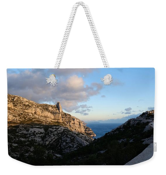 Two Point View Weekender Tote Bag