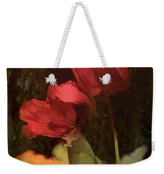 Two Poppies Weekender Tote Bag