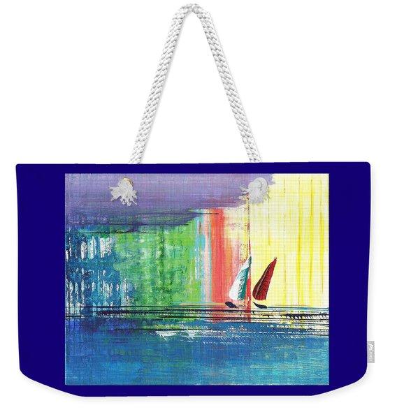 Two Sails Weekender Tote Bag