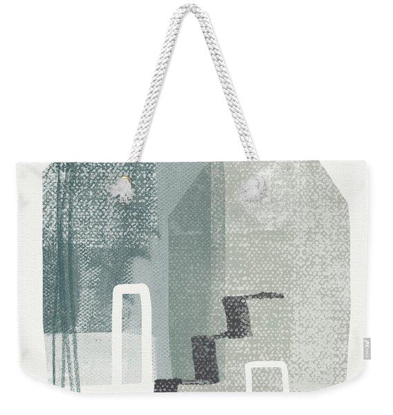 Two Tall Houses- Art By Linda Woods Weekender Tote Bag