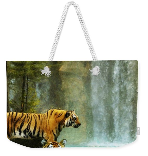 Two Tigers Weekender Tote Bag