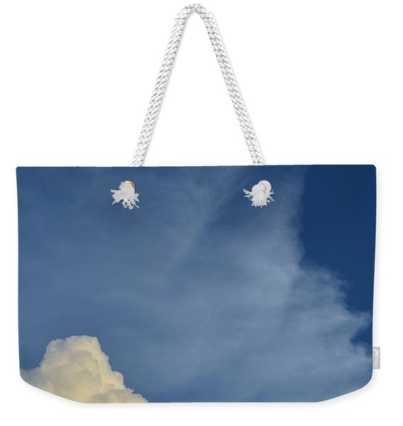 Two Tone Clouds 9384 Weekender Tote Bag