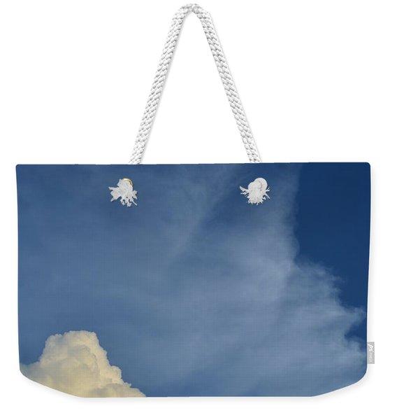 Two Tone Clouds 9384 Weekender Tote Bag