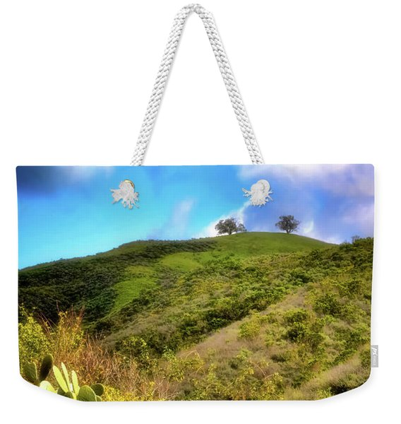 Two Trees In Spring Weekender Tote Bag