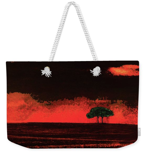 Two Trees In Tuscany Weekender Tote Bag