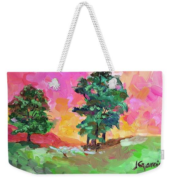 Two Trees Weekender Tote Bag