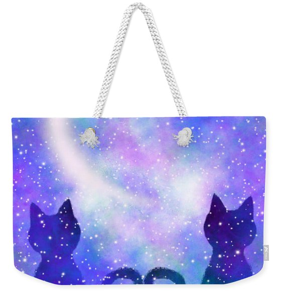 Two Wishing On A Star Weekender Tote Bag