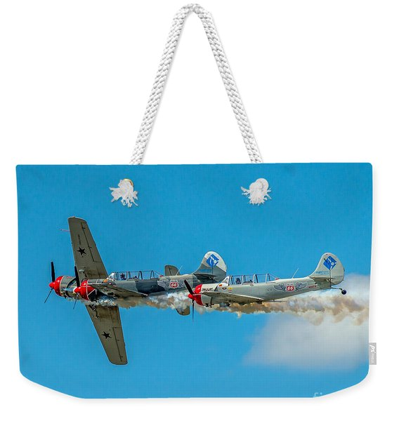Two Yak 52's Weekender Tote Bag