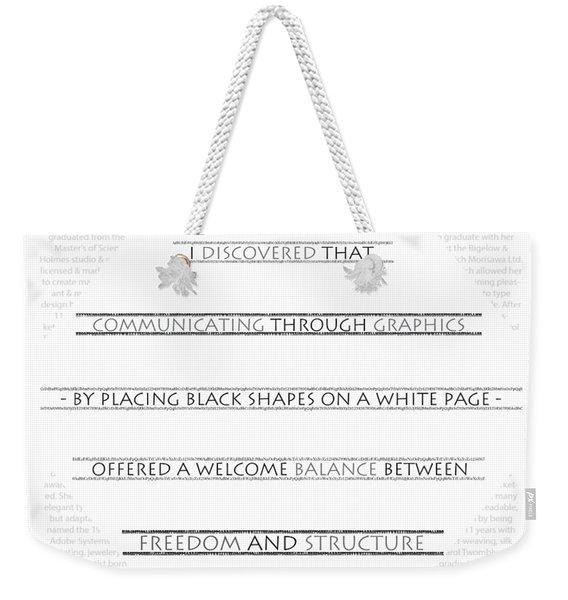 Twombly Weekender Tote Bag