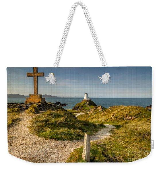 Twr Mawr Lighthouse Weekender Tote Bag