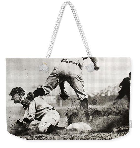 Ty Cobb Gets A Triple Weekender Tote Bag