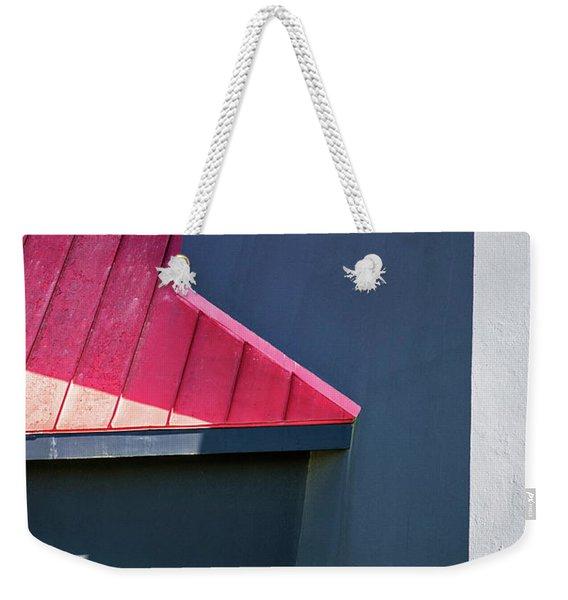 Tybee Building Abstract Weekender Tote Bag