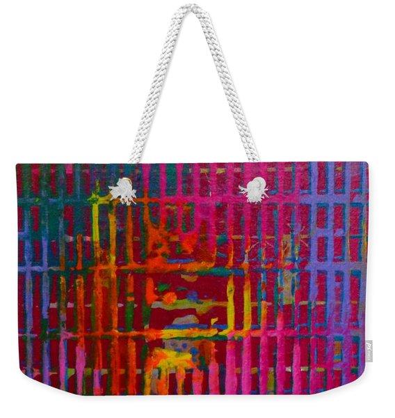 Tye Dye Weekender Tote Bag