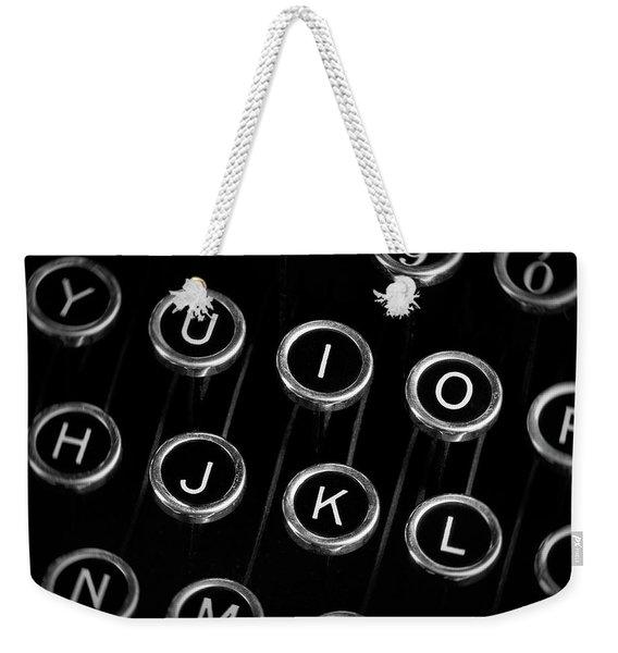 Typewriter Keyboard I Weekender Tote Bag