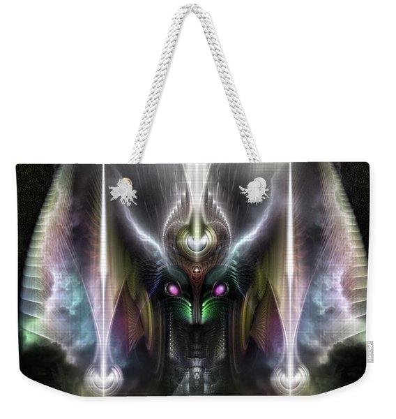 Tyrinan, The Horikin God Of War Weekender Tote Bag