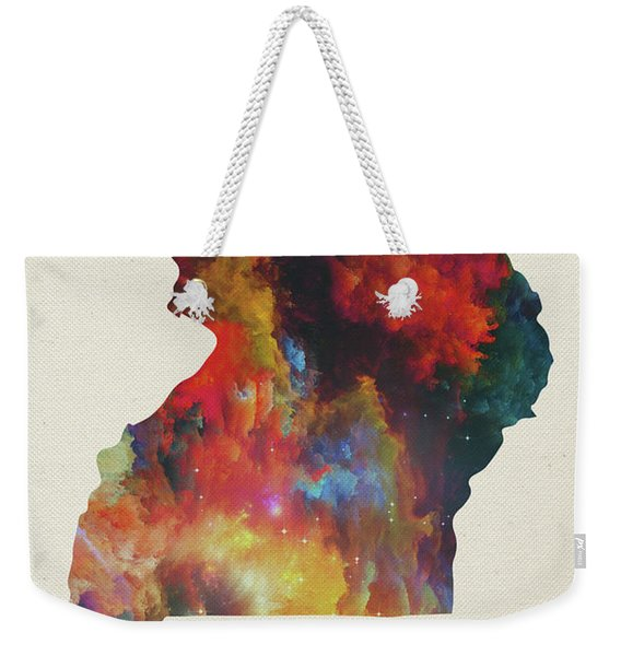Uganda Watercolor Map Weekender Tote Bag