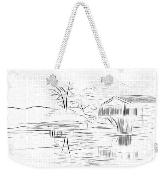 Ullswater Digital Art Weekender Tote Bag