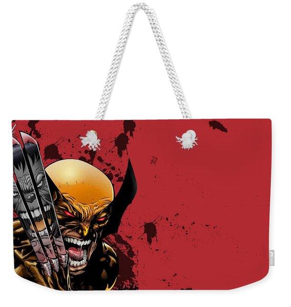 Ultimate Wolverine Vs. Hulk Weekender Tote Bag
