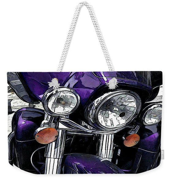 Ultra Purple Weekender Tote Bag