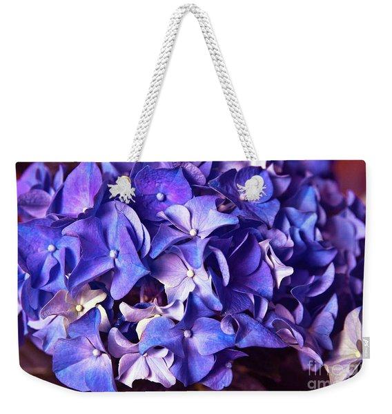 Ultra Violet Dance Weekender Tote Bag