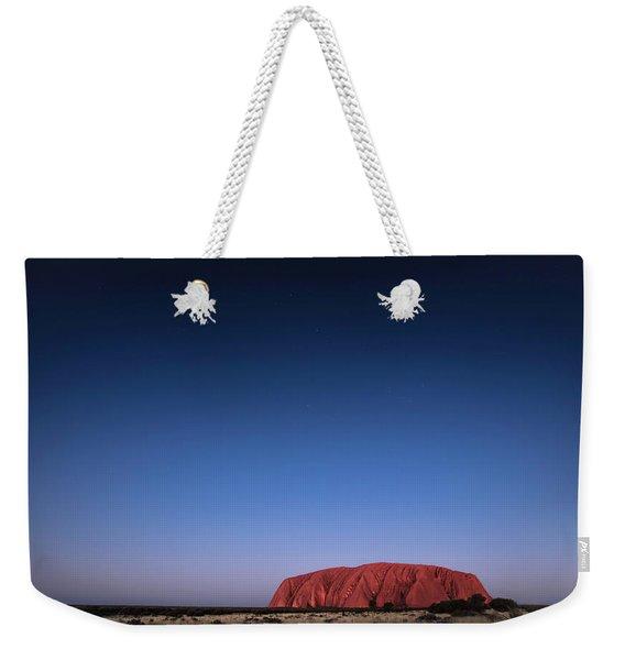 Uluru Starry Night Weekender Tote Bag