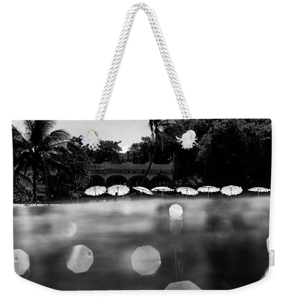Umbrellas 2 Weekender Tote Bag